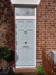 Light Composite Front Door