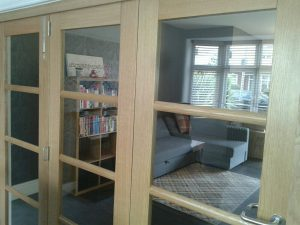 Oak Internal Bifolds