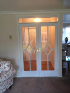 White Bespoke French Doors