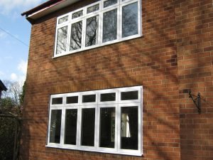 White uPVC Flush Sash