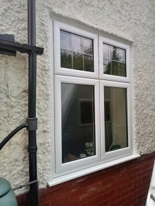 White uPVC Window