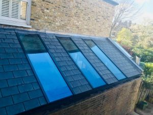 SupaLite Roof With Glass Panels