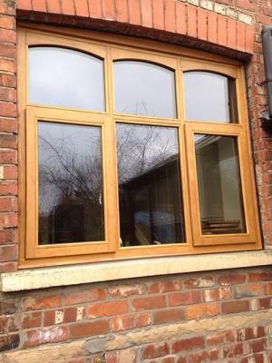 accoya windows oak